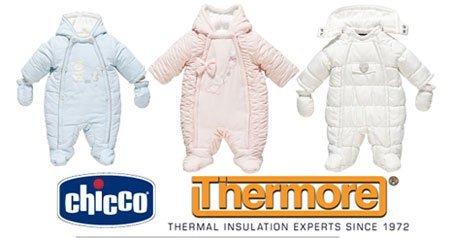Зимняя одежда для новорожденных