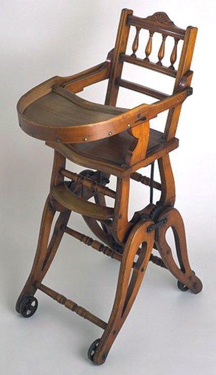 детский стульчик для кормления история и современность