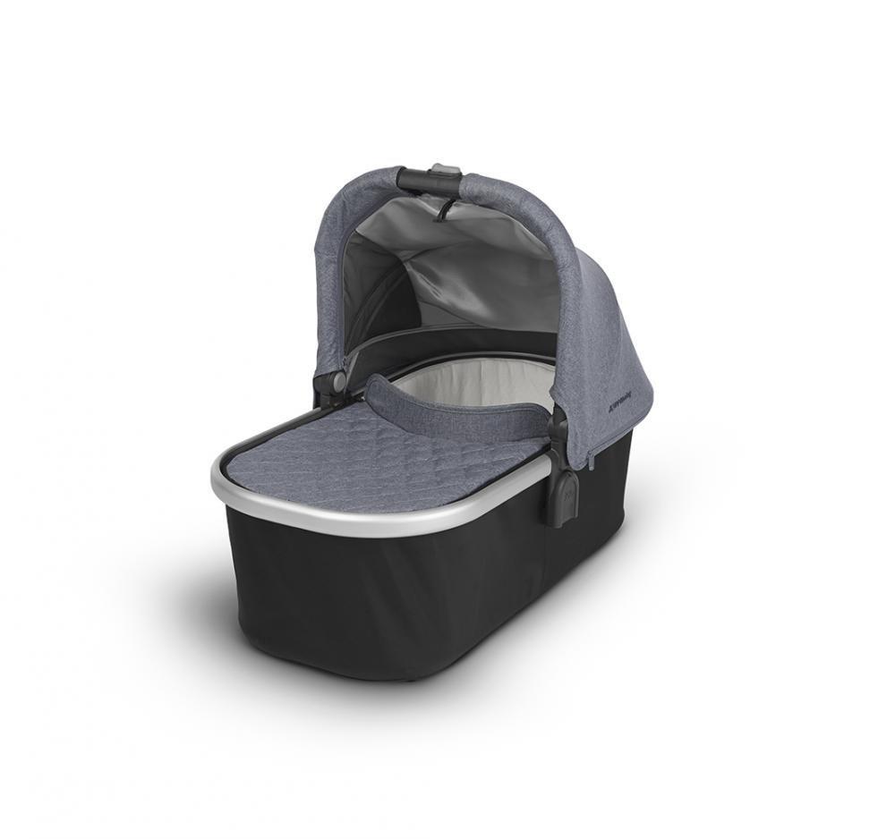 Купить Коляски для новорожденных, UPPABABY Люлька для коляски Cruz и Vista 2018 GREGORY (blue melange) голубой меланж