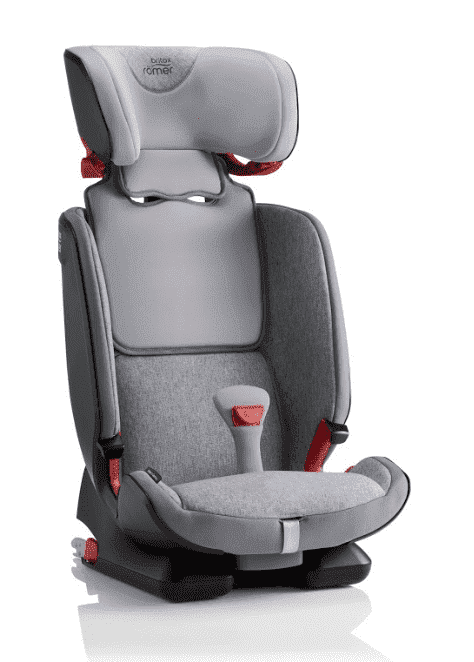 Britax Roemer Автокресло ADVANSAFIX IV M Grey Marble