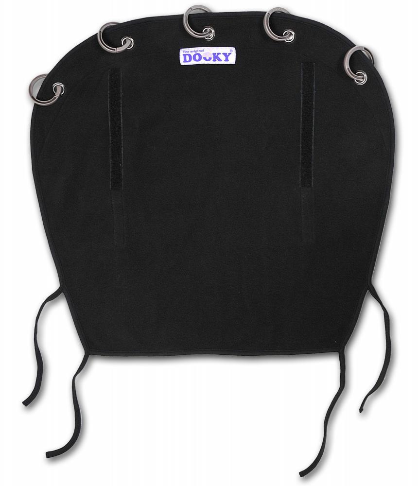 XPLORYS Защитная зимняя накидка на коляску и автокресло DOOKY WINTER цв. Black