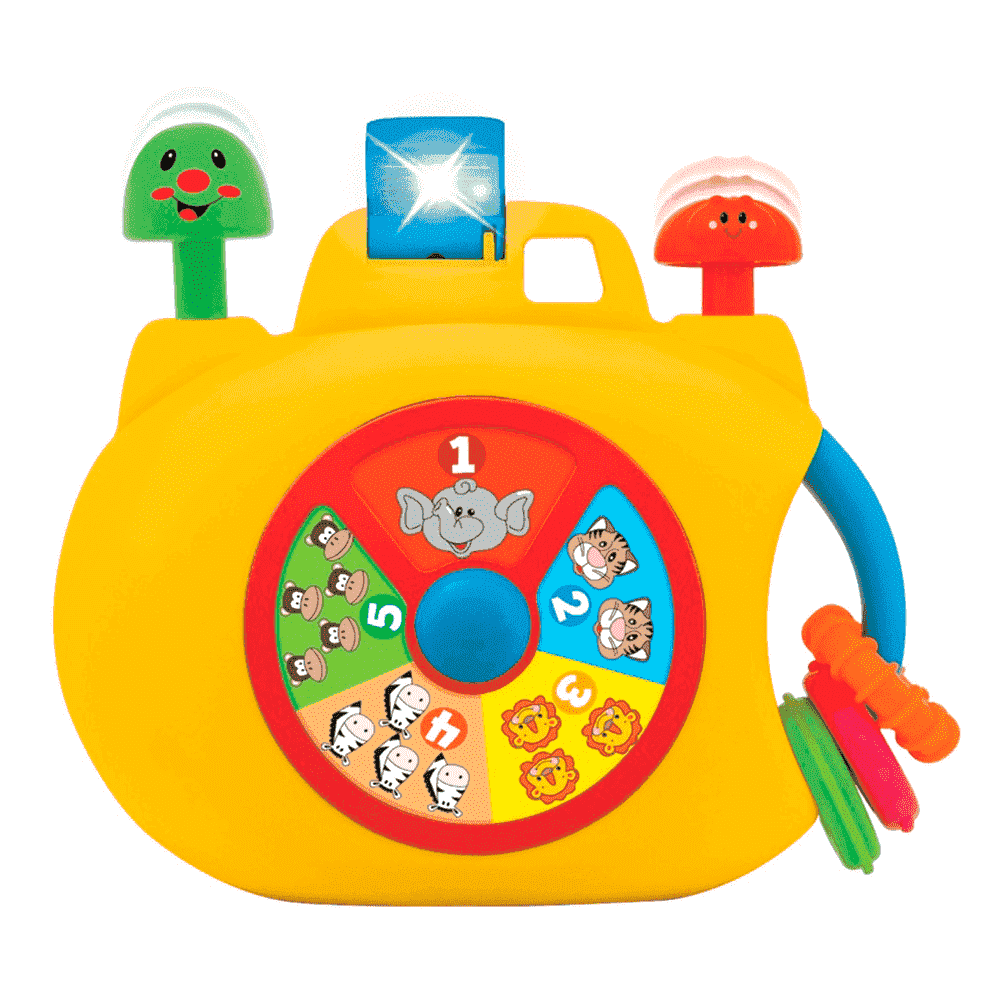 KIDDIELAND развивающая игрушка  &quot,Забавная камера&quot,