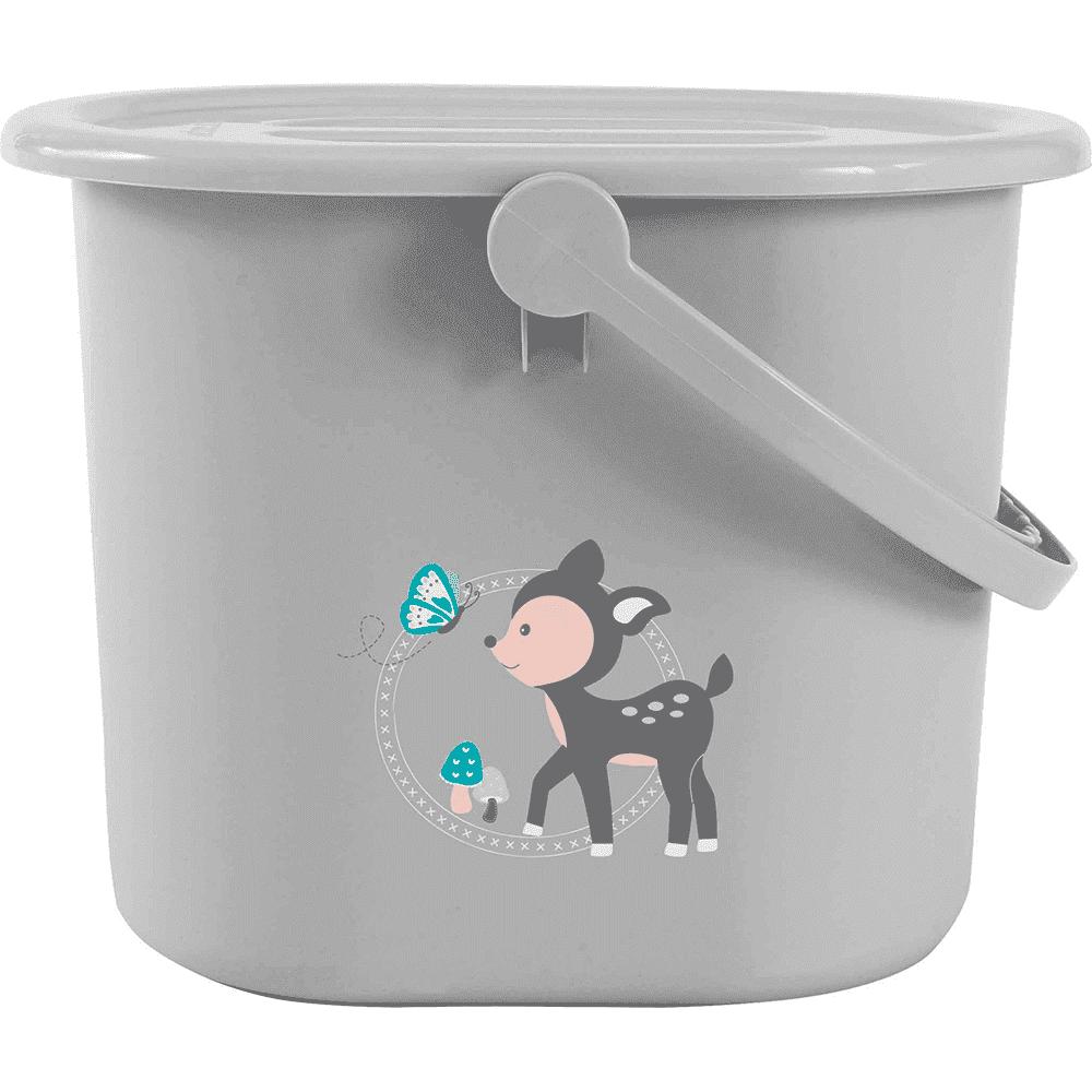 BEBE JOU ведро для наполнения, слива ванночки и использованных подгузников Лесные друзья