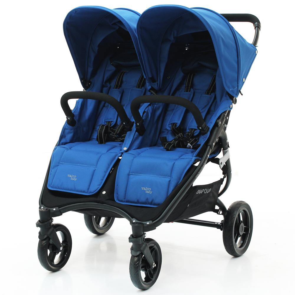 VALCO BABY Коляска для двойни SNAP DUO Twin/ Ocean Blue
