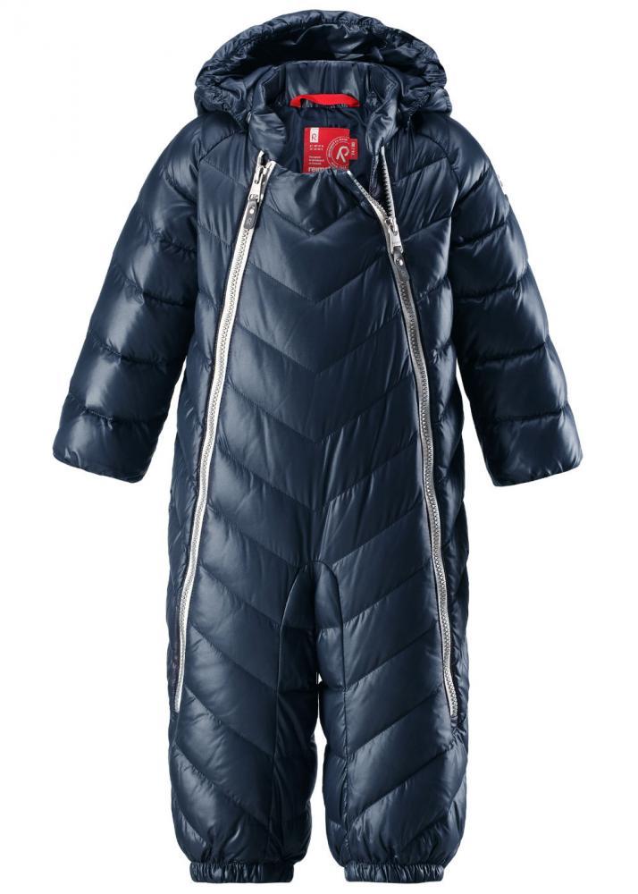 Купить Верхняя одежда для зимы, REIMA комбинезон пуховый UNETUS синий р.62/68
