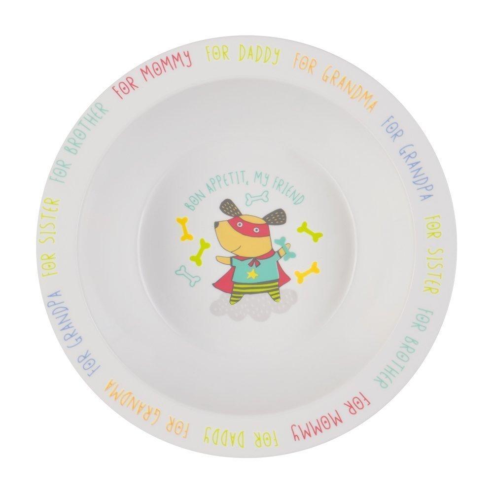 "HAPPY BABY Глубокая тарелка для кормления ""FEEBING BOWL"" 15016 DOG*"