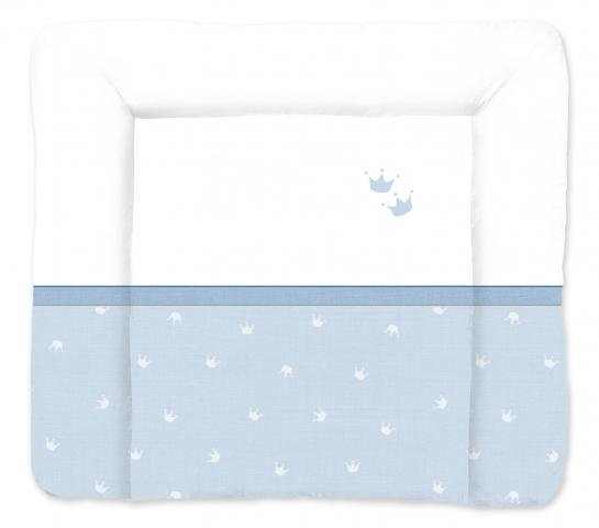 TRAUMELAND матрасик для пеленания Kroenchen blau 75х85 см. от olant-shop.ru