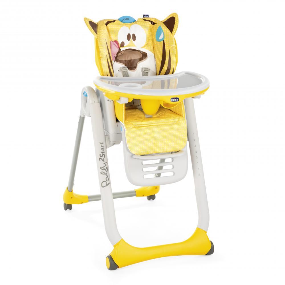 Купить со скидкой Chicco стульчик для кормления polly 2 start тигр
