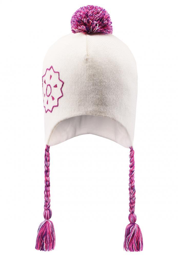 LASSIE шапка белая р.L (54-56см) 728680-0110-L