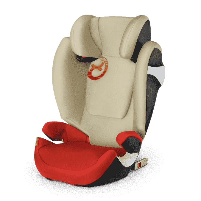 CYBEX Автокресло Solution M-Fix Autumn Gold гр. 2/3 ( 15-36 кг)
