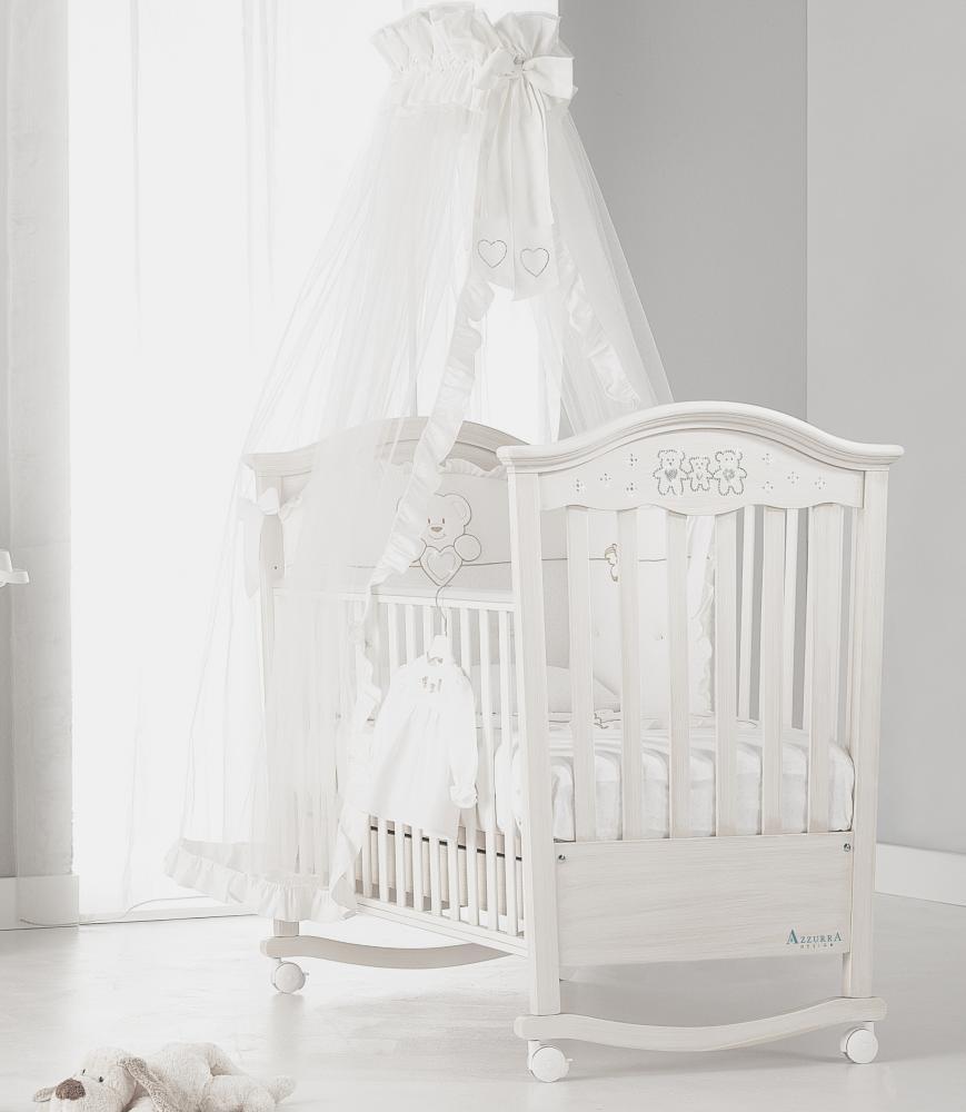 AZZURRA кровать детская DECO ANTIQUE WNITE