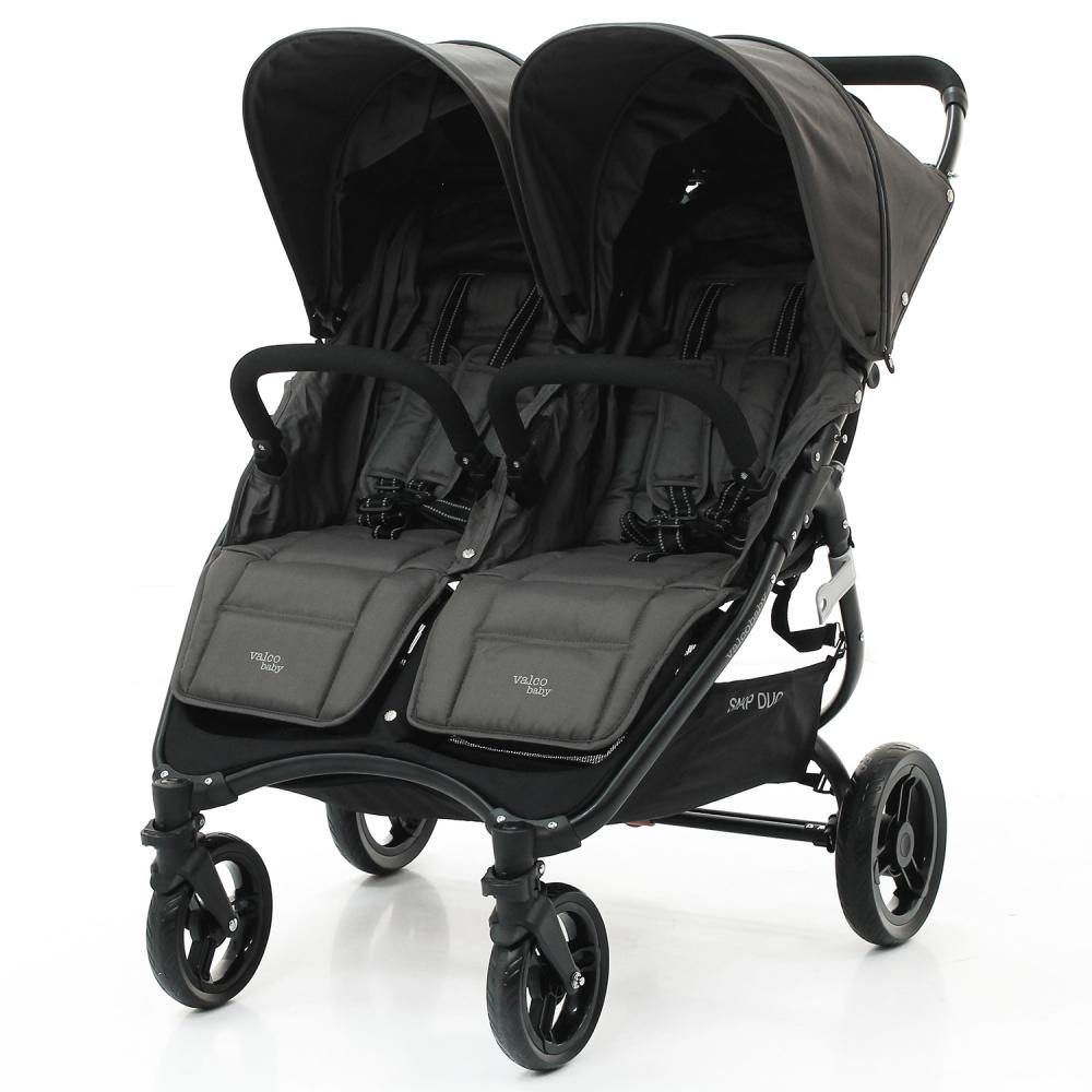 VALCO BABY Коляска для двойни SNAP DUO Twin/ Dove Grey