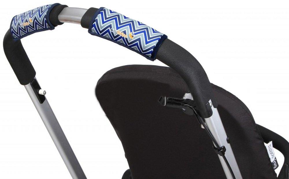 CityGrips Чехлы на ручки для универсальной коляски Chevron Baby Blue CITYGRIPS_чехол универсальный