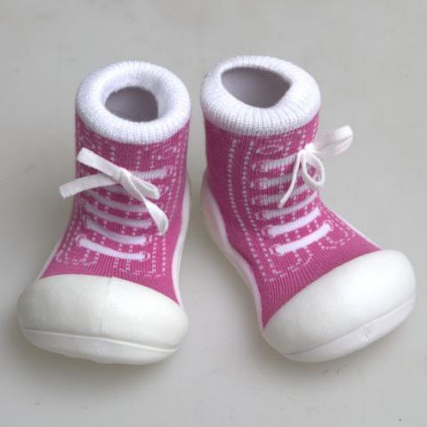 ATTIPAS обувь Sneakers фиолетовый, р. S (3-6мес.)
