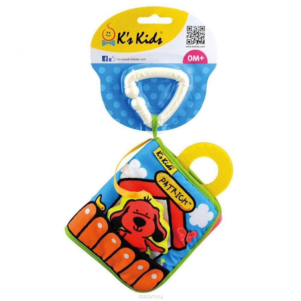 Подвески и дуги на коляску K'S KIDS книжка игрушка первая книжка k s kids