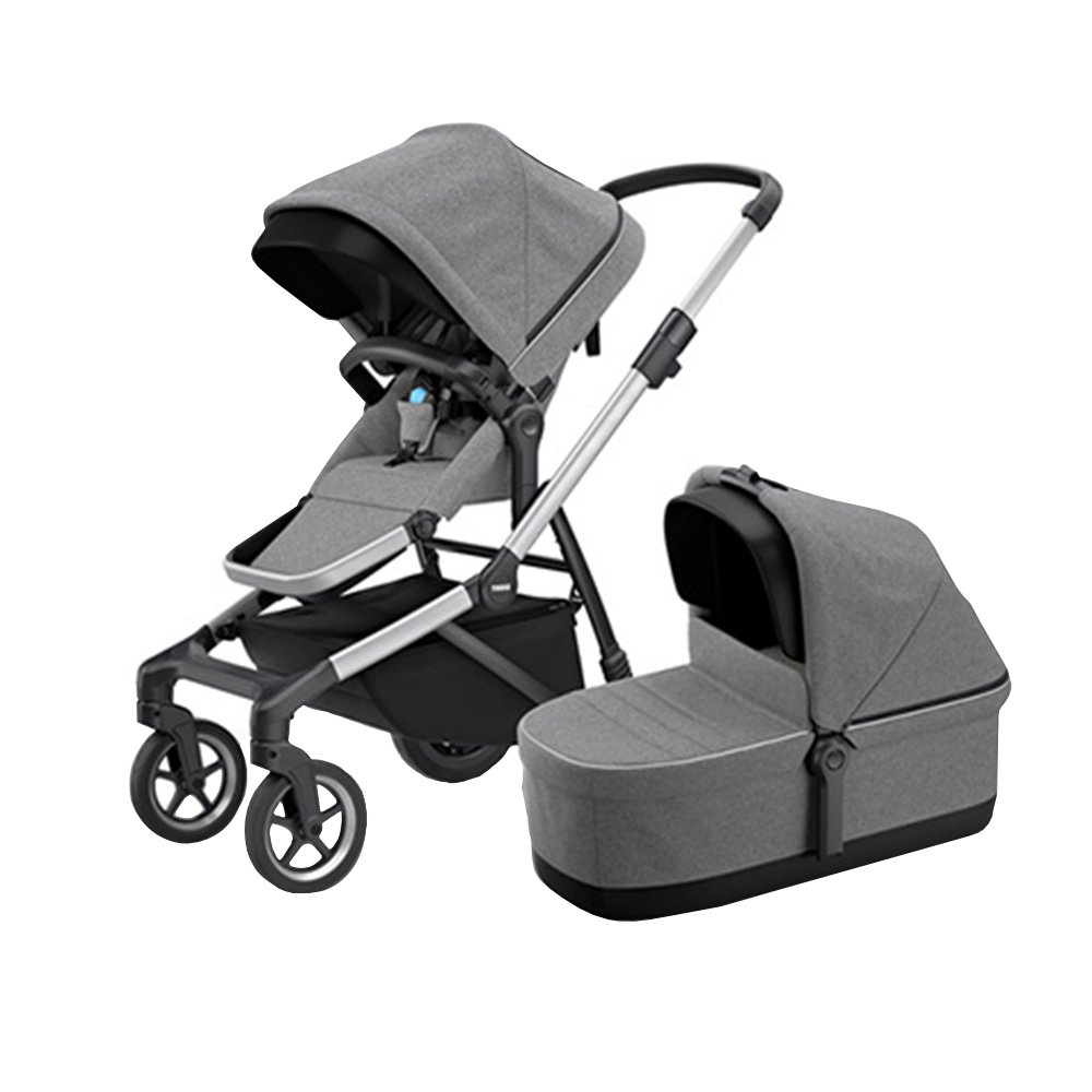 Thule Коляска 2 в 1 Sleek Grey Melange