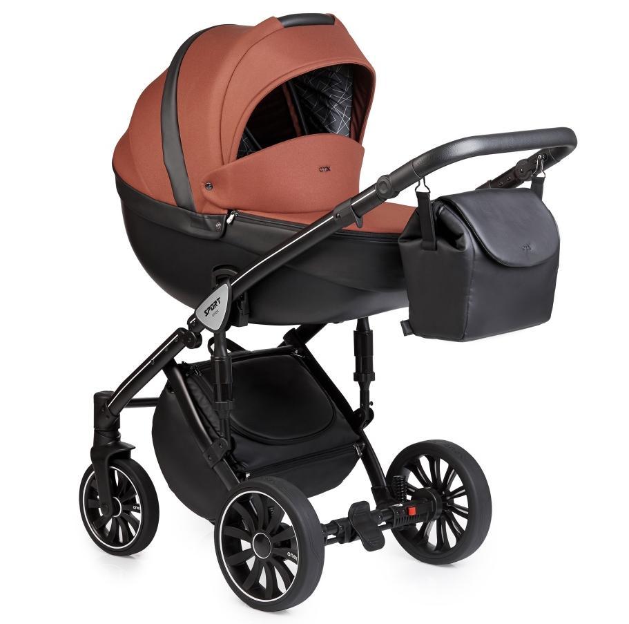 Купить Коляски для новорожденных, ANEX SPORT Коляска 2 в 1 Q1 (Sp16) red haze