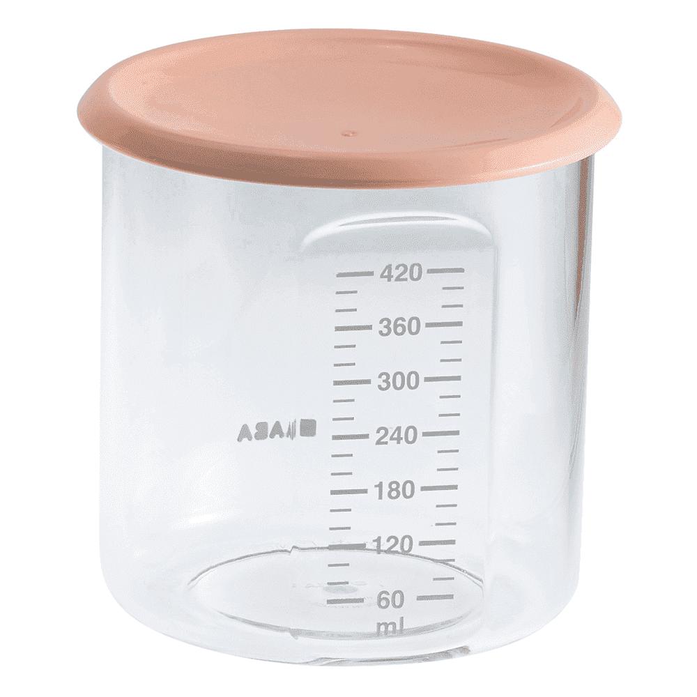BEABA контейнер для хранения MAXI+ 420 мл NUDE