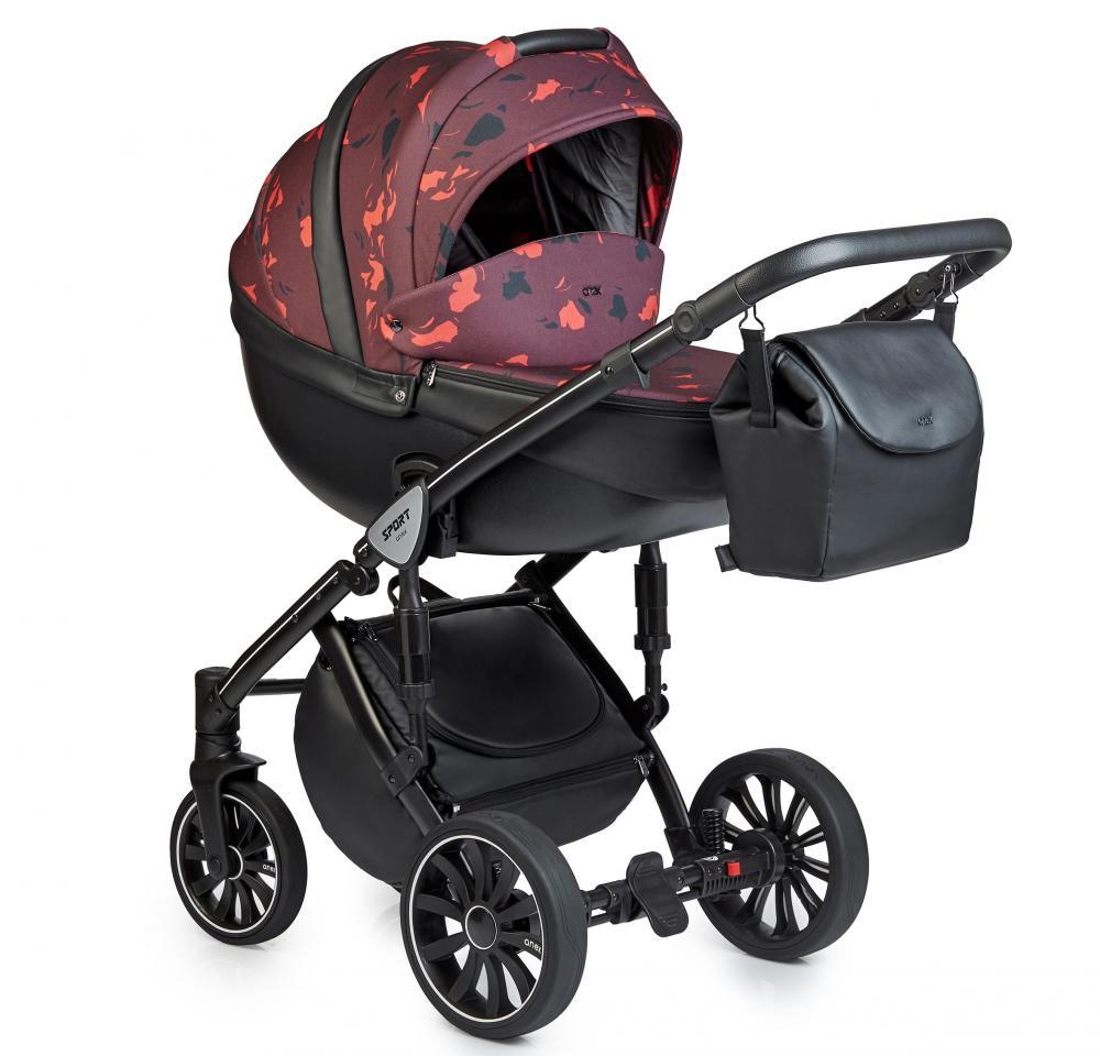 Купить Коляски для новорожденных, ANEX SPORT Коляска 2 в 1 Q1 (Ab02) arch R