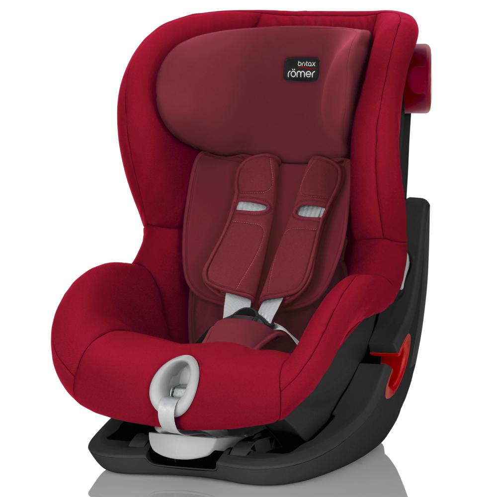 Britax Roemer автокресло KING II Black Series Flame Red (группа 1, от 9 до 18 кг)