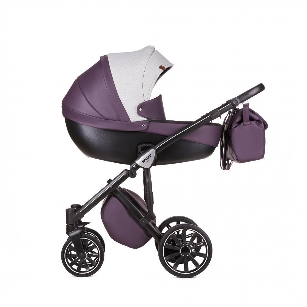 Купить Коляски для новорожденных, ANEX Коляска 3 в 1 SPORT Q1 (SE02) lavender field