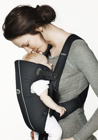 BABYBJORN рюкзак для переноски ребенка Original серый