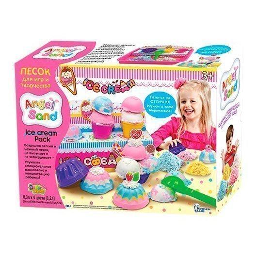 ANGEL SAND Набор песка для игры и творчества Ice Cream Pack