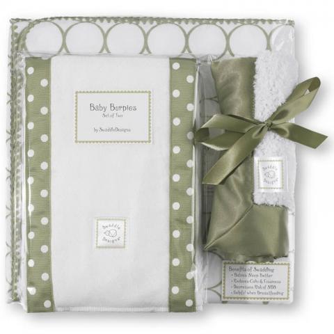 SWADDLE DESIGNS Inc. США подарочный набор для новорожденного Gift Set Sage Mod Circle от olant-shop.ru