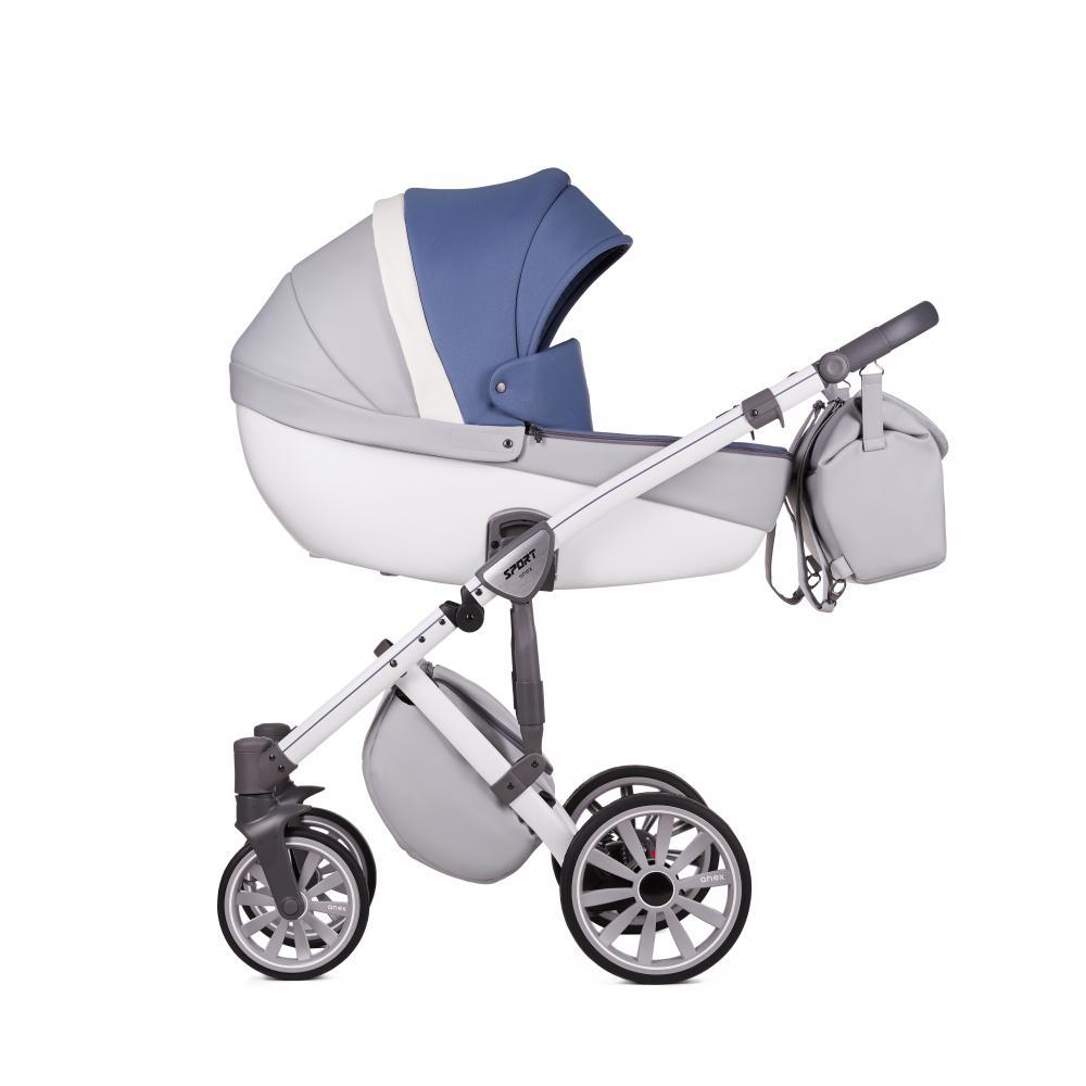 Купить Коляски для новорожденных, ANEX Коляска 3 в 1 SPORT Q1 (Sp22) nebulas blue