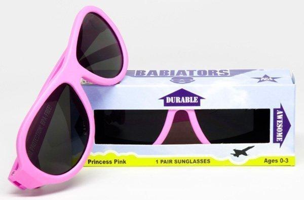BABIATORS очки солнцезащитные Babiators Original (0-3) Принцесса розовые