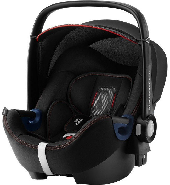Britax Roemer Автокресло Baby-Safe2 i-Size Cool Flow - Black + база FLEX (гр. 0+)