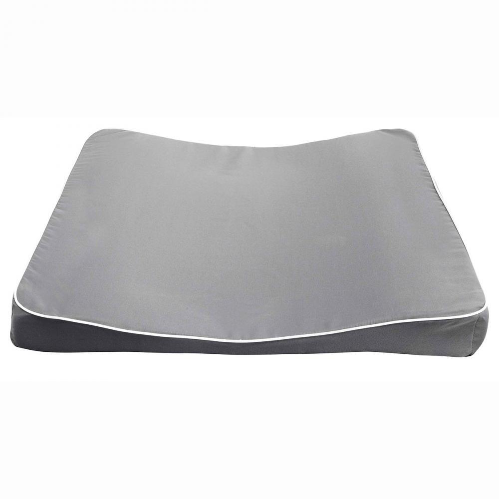 LUMA матрасик пеленальный XL 77*74 серый