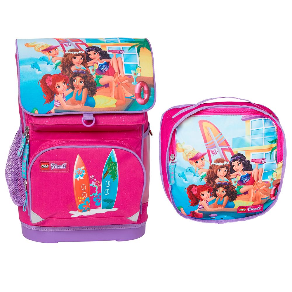 LEGO рюкзак с сумкой для обуви Friends Beach House 16023
