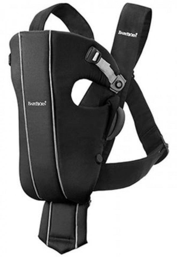 BABYBJORN рюкзак для переноски ребенка Original черный Spirit cotton 0230.71