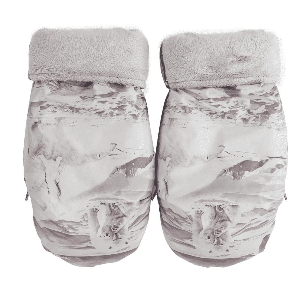 MAMMIE Муфта -рукавички на коляску арктик