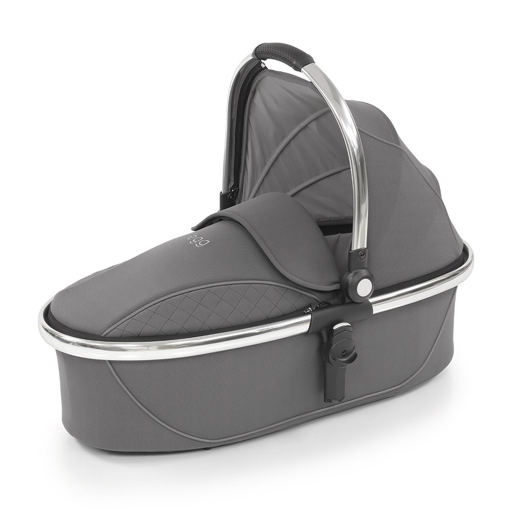 Egg Люлька Carrycot Anthracite & Chrome Frame