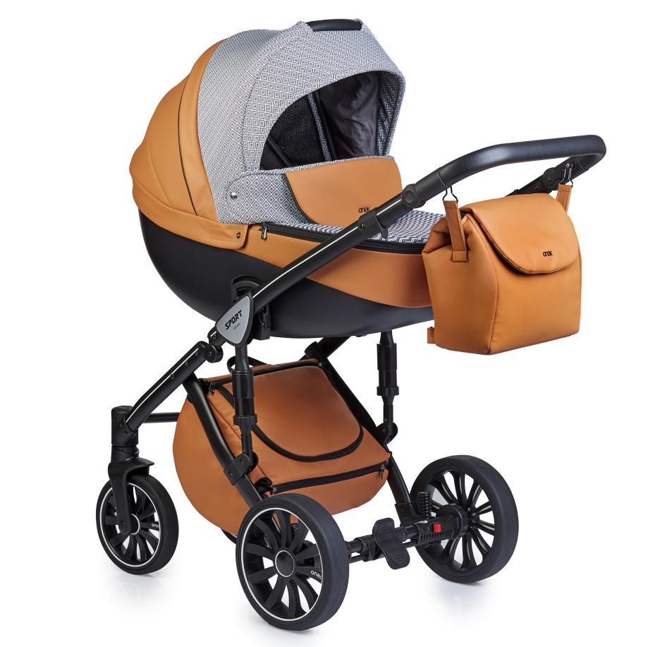 Купить Коляски для новорожденных, ANEX SPORT Коляска 2 в 1 Q1 (Sp14) foxy