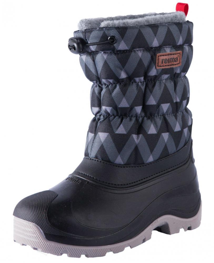 Купить Обувь, носки, пинетки, REIMA ботинки зимние IVALO черные р.32/33