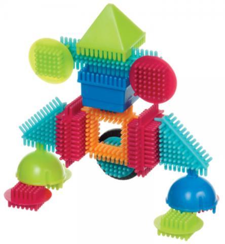 BATTAT Bristle Blocks конструктор игольчатый в коробке ( 56 деталей) от olant-shop.ru