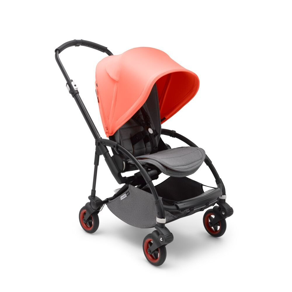 Bugaboo Прогулочная коляска Bee5 BLACK/ CORAL complete Limited