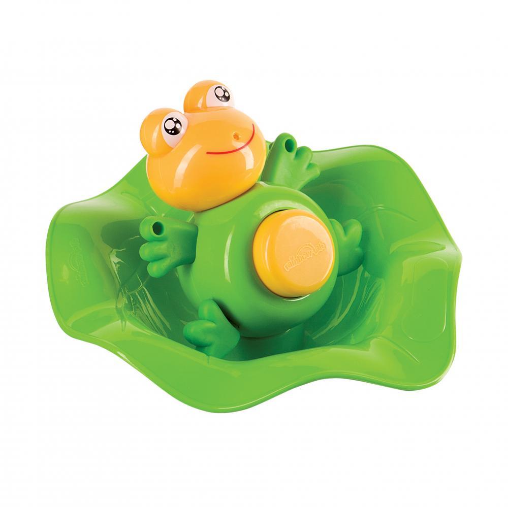 HAPPY BABY Лягушка -прорезыватель и ковш