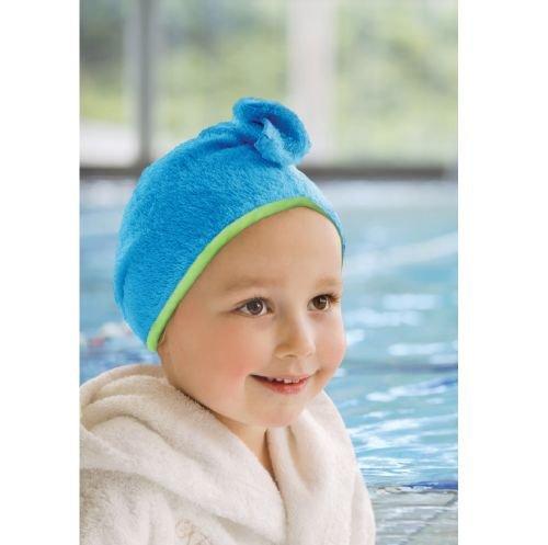 CUDDLEDRY полотенце  для волос Cuddletwist голубой