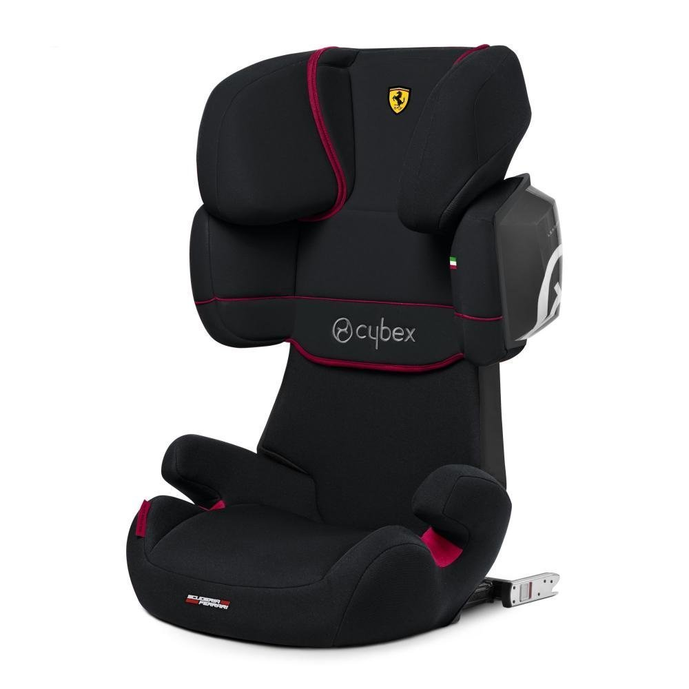 Cybex Автокресло Solution X2-Fix FE Ferrari Victory Black