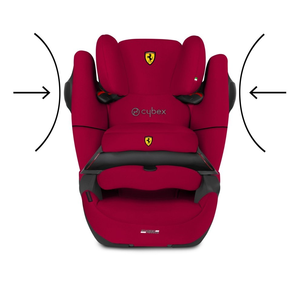 Cybex Автокресло Pallas M-Fix SL FE Ferrari Racing Red