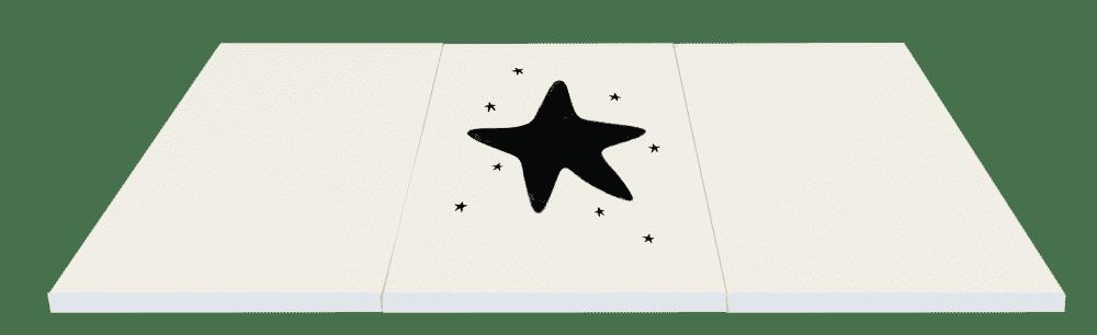 Ggumbi мат игровая зона folder big star 140х300х4