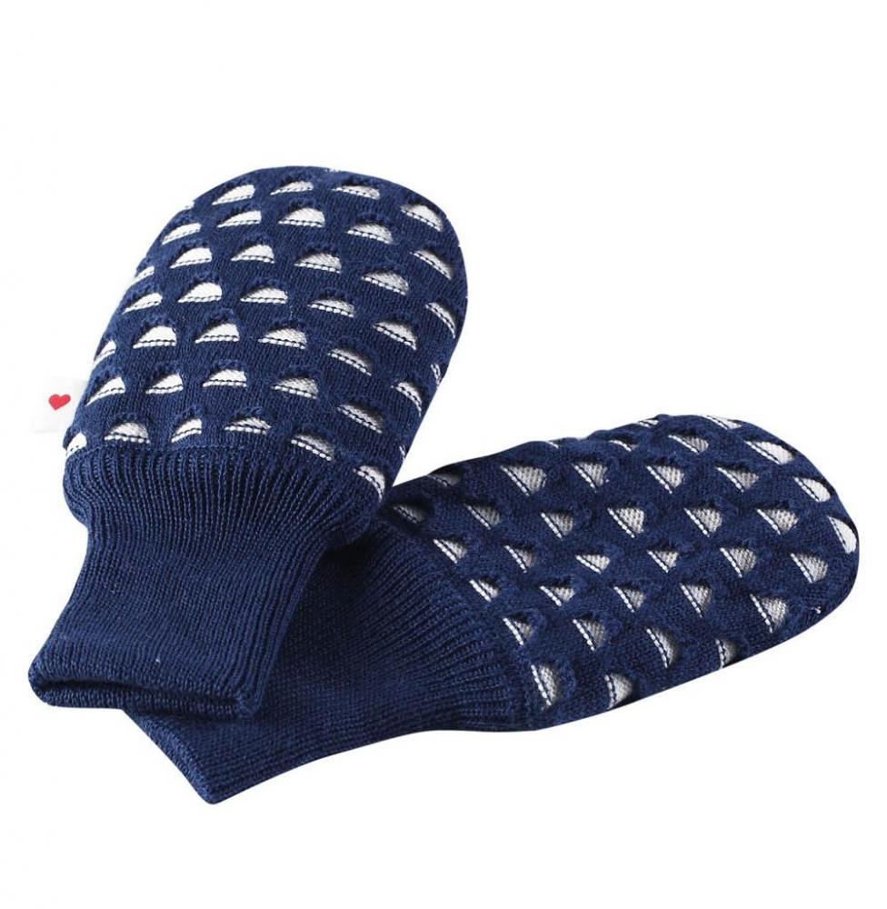 Купить Шапки, варежки, перчатки, REIMA BABY Варежки TERHO синие р.6-18мес.