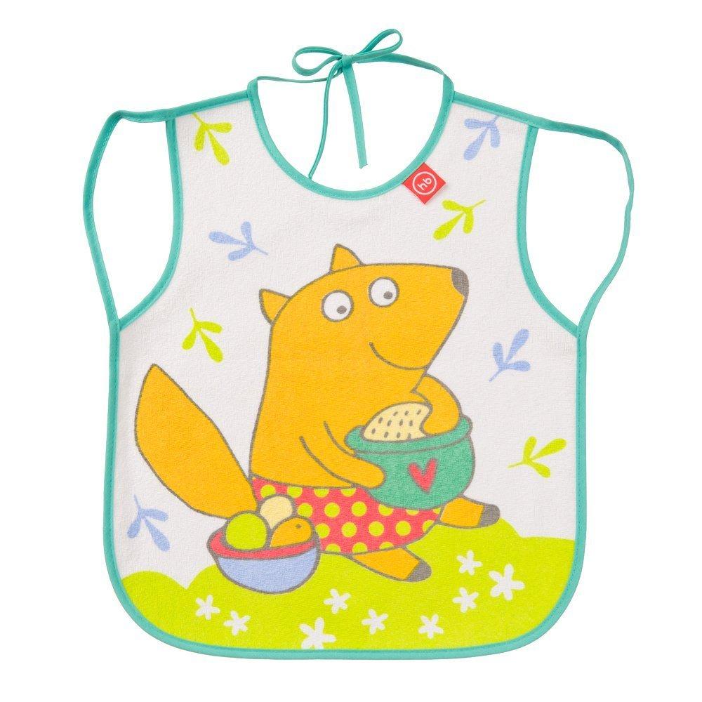 "HAPPY BABY Нагрудный фартук ""BABY BIB WITH HANGERS"" MINT (FOX)"