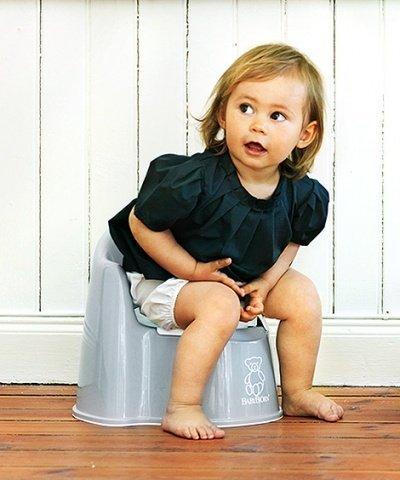 BABYBJORN горшок-кресло серый