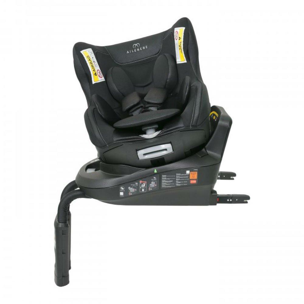 CARMATE автокресло KURUTTO 3i Isofix (0-18 кг) цв. черный