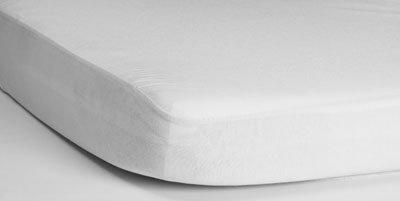 HIPPYCHICK простынь непромокаемая натяжная Tencel 60х120 см (белая) 002000400032